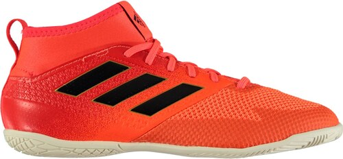 9d670d68528 adidas Ace 17.3 Junior Indoor Football Trainers SolOrange Black ...