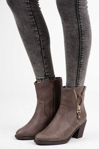 3ccee1088 Členkové topánky kovbojky XQ71BR - Glami.sk