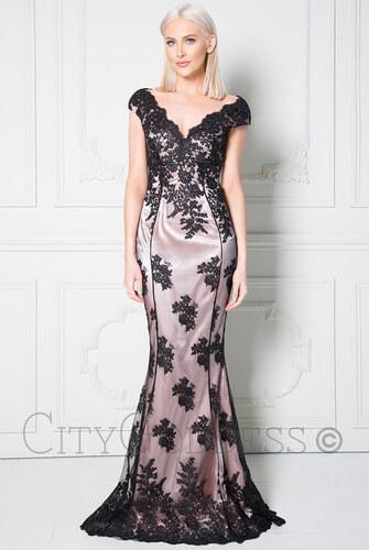 677afd9ef9f CITYGODDESS Společenské šaty Stephanie černé - Glami.cz
