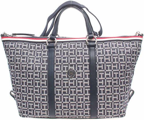 Tommy Hilfiger Velké kabelky   Nákupní tašky dámská kabelka AW0AW03696 modrá  Tommy Hilfiger 3bb90ebe0cb