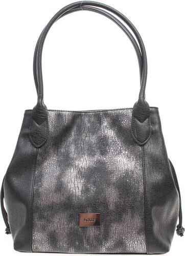 8262b044797d Gabor Velké kabelky   Nákupní tašky dámská kabelka 7740 60 Granada Glam  černá-stříbrná Gabor
