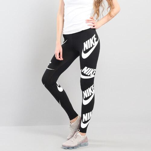 91b6ce049b63 Nike W NSW Legging SSNL Leg černé   bílé - Glami.cz
