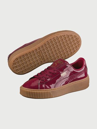 Topánky Puma Basket Platform Patent Wn S Tibetan Red - Glami.sk 3628b146020