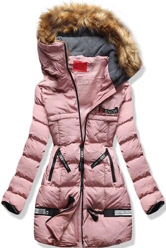 MODOVO Dámska zimná bunda s kapucňou A1 púdrová - Glami.sk d2114686137