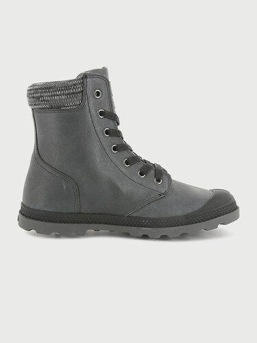 01a8cd3c743b Topánky Palladium Pampa Hi Knit Lp Black Forged Iron - Glami.sk