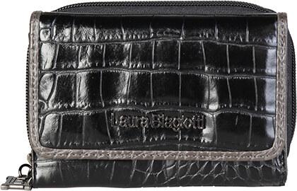 Laura Biagiotti Dámska peňaženka LB17W505-34 NERO - Glami.sk 9054dcf410f