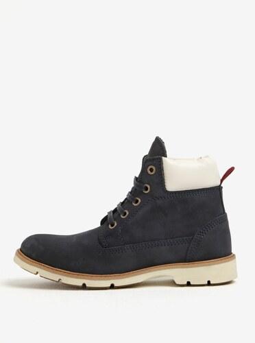Tmavomodré dámske kožené členkové topánky Weinbrenner - Glami.sk a8bb20459eb