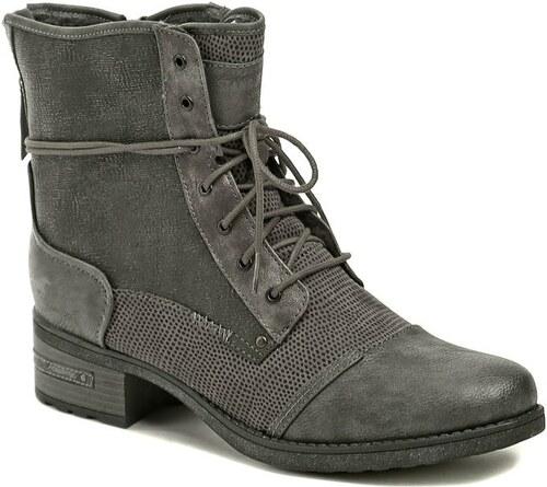 Mustang 1229-603-259 šedé dámské zimní nadměrné boty - Glami.cz 3d68b0ba56