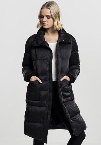 Urban CLASSICS Dámsky kabát Urban Clasissics Ladies Oversized Puffer Coat  čierny 7e8babc2dc2