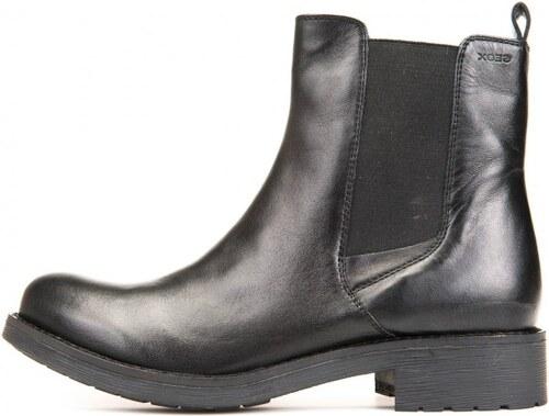 Geox dámská kotníčková obuv Donna New Virna 37 černá - Glami.cz 08de3a7fb9
