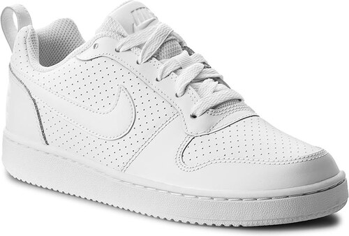 b38dfcd353 Cipő NIKE - Court Borough Low 844905 110 White/White/White - Glami.hu