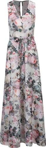 Krémové kvetované maxi šaty bez rukávov Dorothy Perkins - Glami.sk 4cfbe35de9a