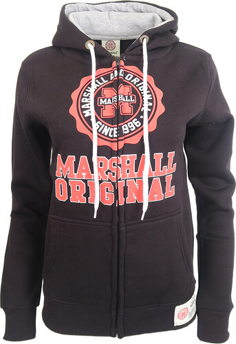 Černá mikina Marshall - Glami.cz ec21edc485e