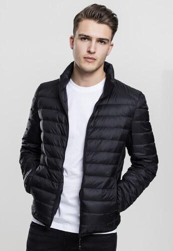 Pánska prechodná bunda URBAN CLASSICS Basic Down Jacket čierna ... 5fb2a025874