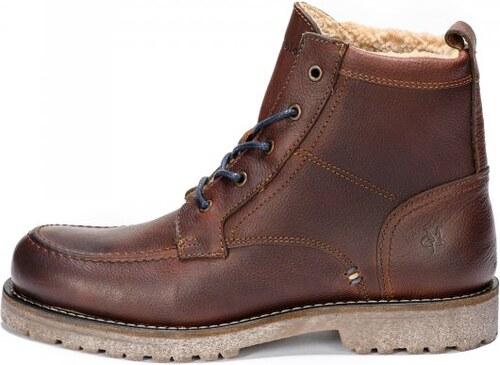 Marc O´Polo pánská kotníčková obuv 42 hnědá - Glami.cz 560e26b5f5