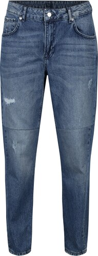 Modré dámské mom džíny s vysokým pasem Pepe Jeans Violet Twist ... 06b7573f2e