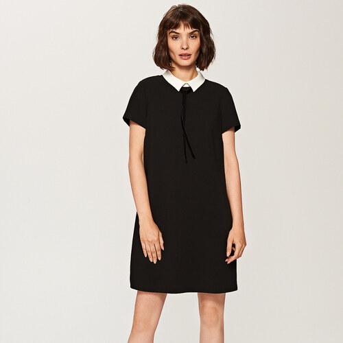 e1b2c71a14 Reserved - Fekete galléros ruha - Fekete - Glami.hu