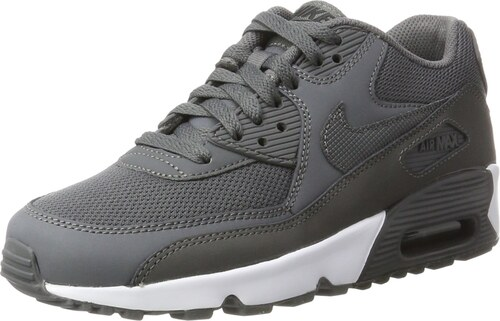 huge selection of 5a34f 952c3 ... reduced nike air max 90 mesh gs sneakers basses garçon gris gre dark  grey black white
