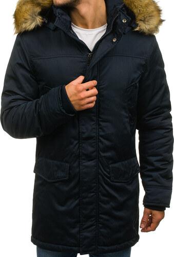 5995b2e992 Bolf Zimní pánská bunda černá R51 - Glami.cz