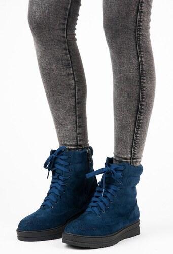 06d8f8acb558 Vices Viazané členkové topánky na platforme 2115-13N - Glami.sk