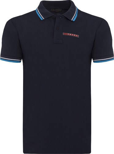 Prada pánské polo tričko s krátkým rukávem - Glami.cz 6adba18c63