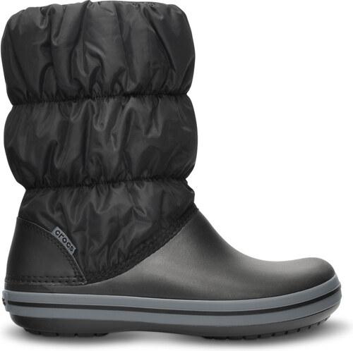 e36f60f4907 Crocs Winter Puff Boot Women 34-35 (W5) / Black/ Charcoal - Glami.cz