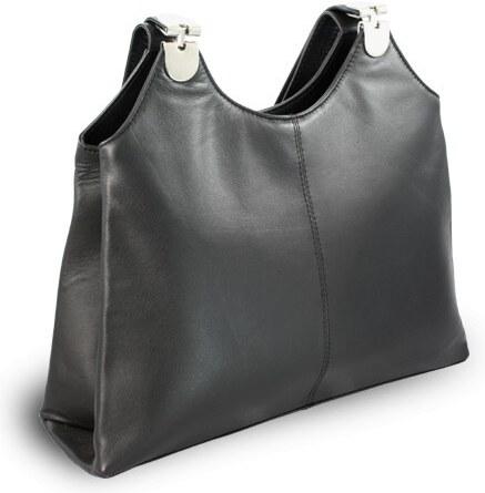 Arwel Černá dámská kožená kabelka Penelopie - Glami.sk 1f1ff23d84