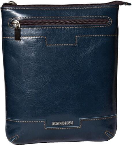 2ce3193582 Alain Delon Malá kožená taška na plece - Glami.sk