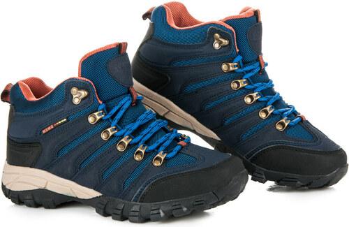 CNB Dámske modré trekové topánky v športovom štýle - Glami.sk 50146856314