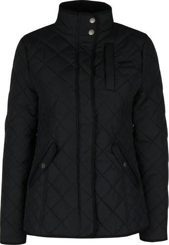 Čierna prešívaná bunda Brakeburn - Glami.sk 31b94183ac9