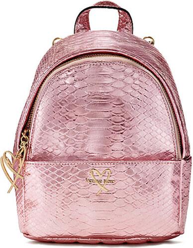 2960bd1bd64 Victoria´s Secret Victoria s Secret luxe python mini city backpack pink