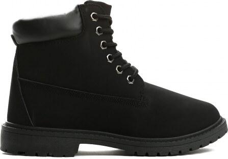 Dámské černé kotníkové boty Petty 800 - Glami.cz 73a8665c1d