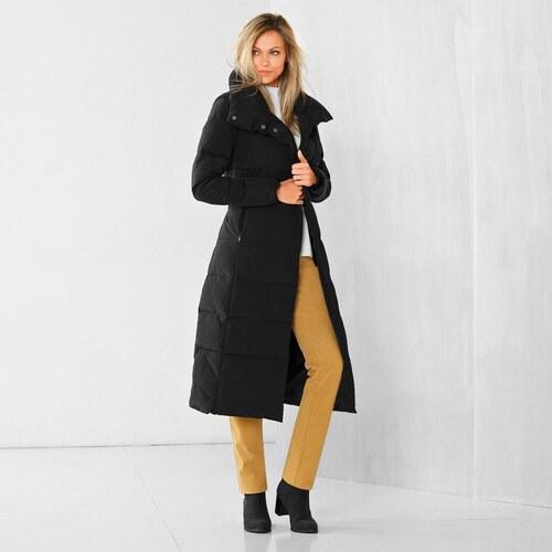 129c6fd92 Vypredaj-zlavy.sk Kabát prešívaný,dĺžka 72cm,90%PES+10%PAD čierná ...