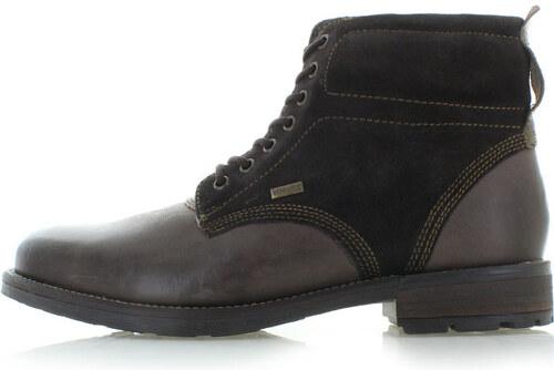 d67725bf70f9 Klondike Pánske hnedé členkové topánky Vincent - Glami.sk