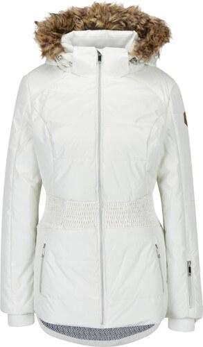 6999e00bc805 Krémová dámska lyžiarska funkčná vodovzdorná bunda LOAP Fabiana ...