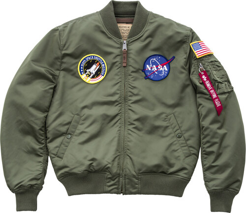 5ecf8b4b8b Alpha Industries Ma 1 Vf Nasa férfi kabát 166107 01 - Glami.hu