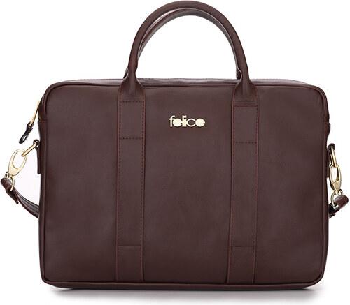 Felice Kožená pracovní taška na notebook - Glami.cz b5d32fccc3