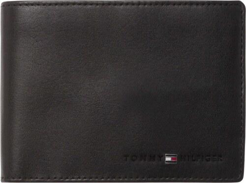 a0a2f16a57 Tommy Hilfiger kožená pánska peňaženka Icons Stripe Extra CC and Coin Pocket