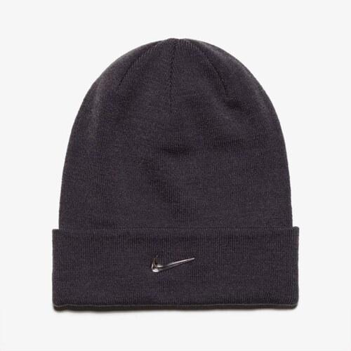 Nike Čepice Zimní Nike Swoosh Beanie - Blue ženy Doplňky Čepice 803734021  Šedá 284f43b370
