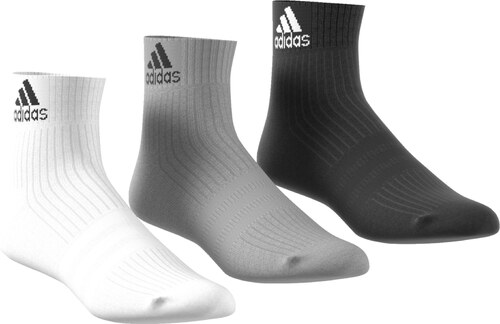 Ponožky adidas Performance 3S PER AN HC 3P BLACK MGREYH WHITE - Glami.sk eccab49088