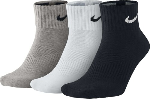 1423e00b71d Pánské ponožky Nike Cushion Quarter 3 páry MULTI-COLOR - Glami.cz