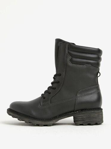 Čierne zimné členkové topánky Tamaris - Glami.sk 5ae50acece6