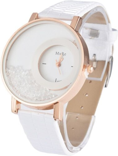 Shim Watch Mx Dámské hodinky s krystaly bílé - Glami.cz 5ec5cad154