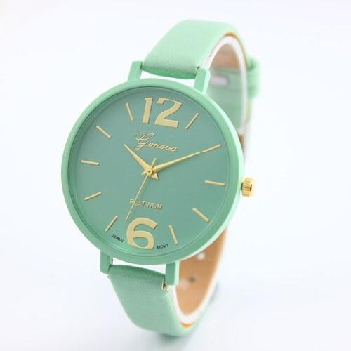 Shim Watch Geneva dámské hodinky Tyrkysové - Glami.cz f98ed20f9d