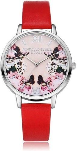 Shim Watch LVPAI Dámské hodinky Fantastic červené - Glami.cz b695402681