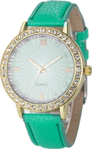 Shim Watch Lola Dámské hodinky s krystaly zelené - Glami.cz bfaaa59f2f
