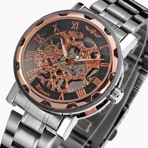 Pánské mechanické hodinky Winner JS12IN - Glami.cz ada63f93f3b