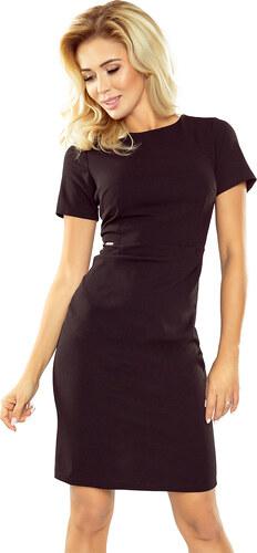 4c03b7bf2 NUMOCO Dámske čierne elegantné šaty 150-3 - Glami.sk