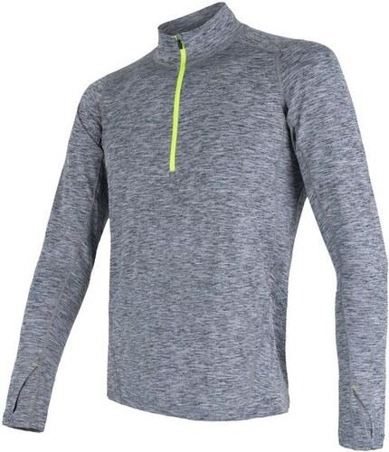 2833e203f31f Sensor Motion Pánske tričko dlhý rukáv se zipsom grey XL - Glami.sk