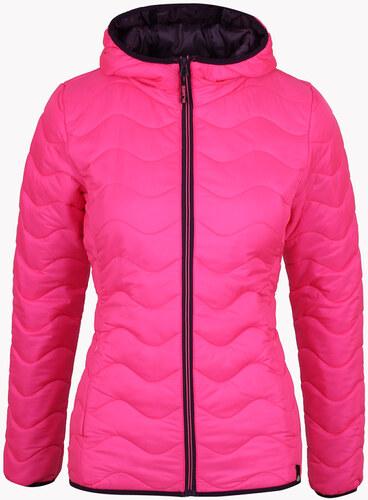 Sam 73 Dámska prešívaná bunda na zips ružová - Glami.sk 208a72665c0